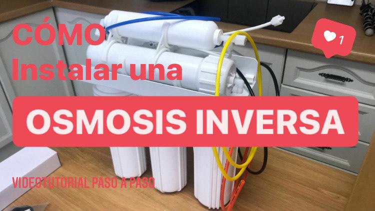 Cómo instalar una osmosis inversa en casa⚠️DIY Dificultad Moderada 🔧