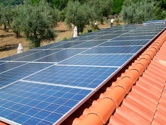 placas solares para chalets